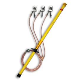 ARCUS 530 001 220 Trifazis įžemiklis įrenginiams su lazda ( iki 35 kV)