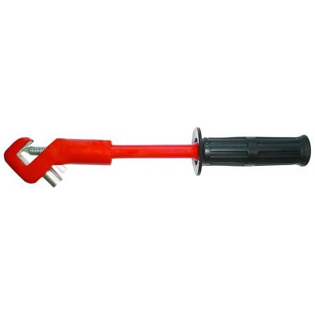 ARCUS 502 064 Įžeminimo gnybtas su lanksčia rankena saugiklių lizdams (iki 1kV)