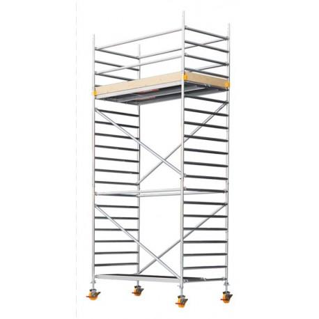CUSTERS 1,3x1,8m aliuminis bokštinis pastolis