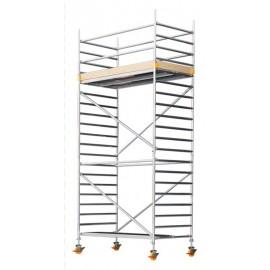 CUSTERS 1,3x2,5m aliuminis bokštinis pastolis