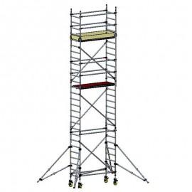 CUSTERS 8,3x0,7x1,8 m aliuminis bokštinis pastolis